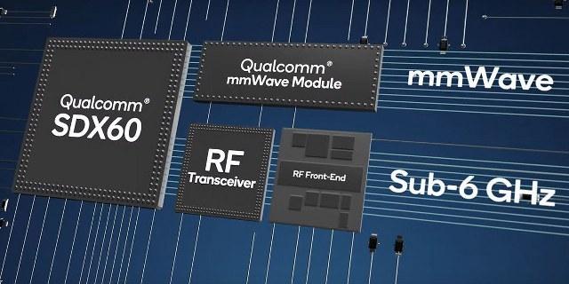 Qualcomm anuncia su modem 5G Snapdragon X60: 5nm y hasta 7.5Gbps