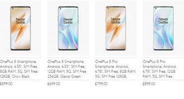 OnePlus 8 y Pro