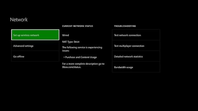 Xbox One WiFi
