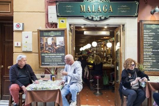 bares malaga