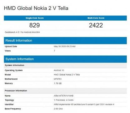 Nokia V2 Tella