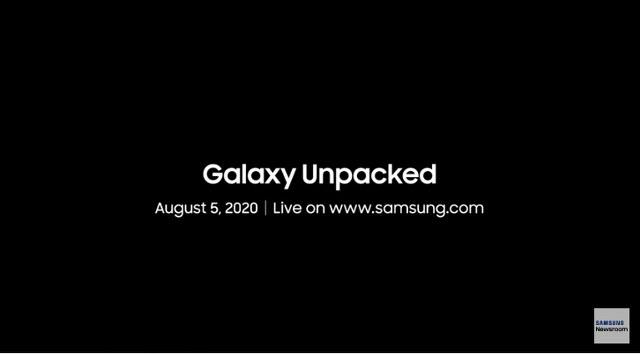 Samsung Unpacked 5 agosto
