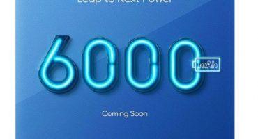 realme 6000 mah