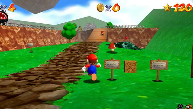 Mario 64 pc