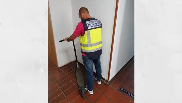 Policia patinentes