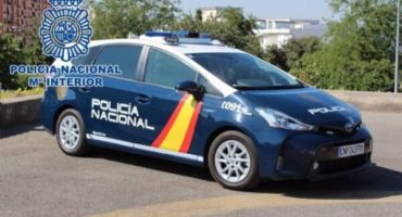 coche de policia estepona
