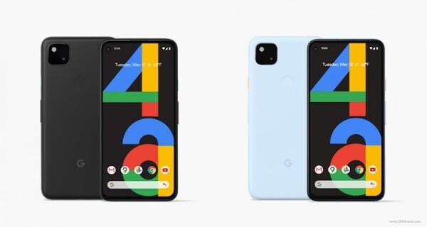 Pixel 4a azul