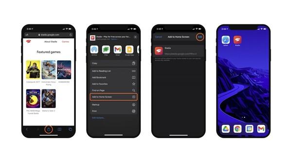 Stadia iOS
