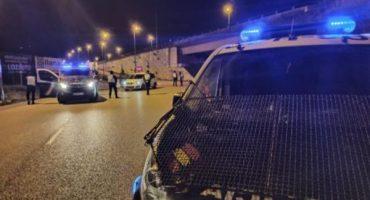 Herido policia