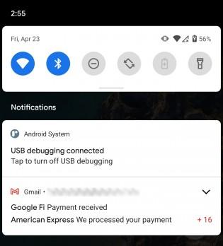 Android 12 notificaciones