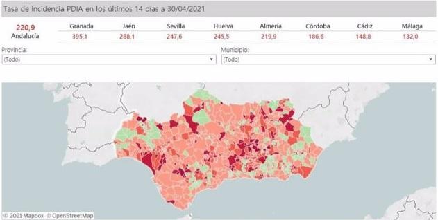 Andalucia covid-19