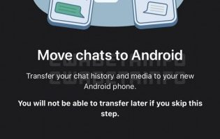 Move chats Android